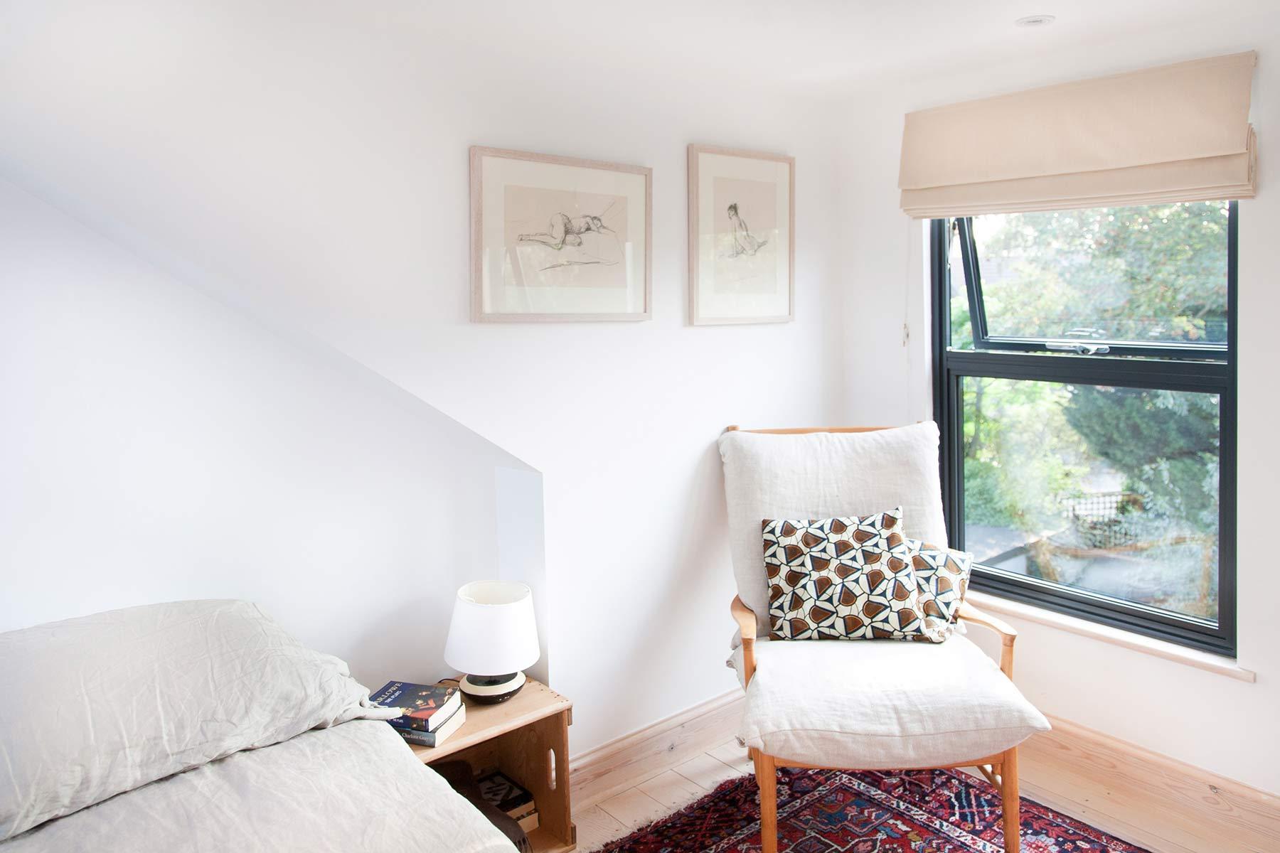 dormer loft conversion London - extending upward
