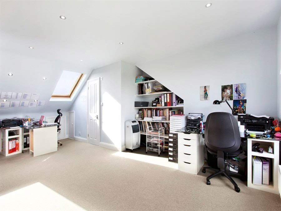 loft conversion home office example